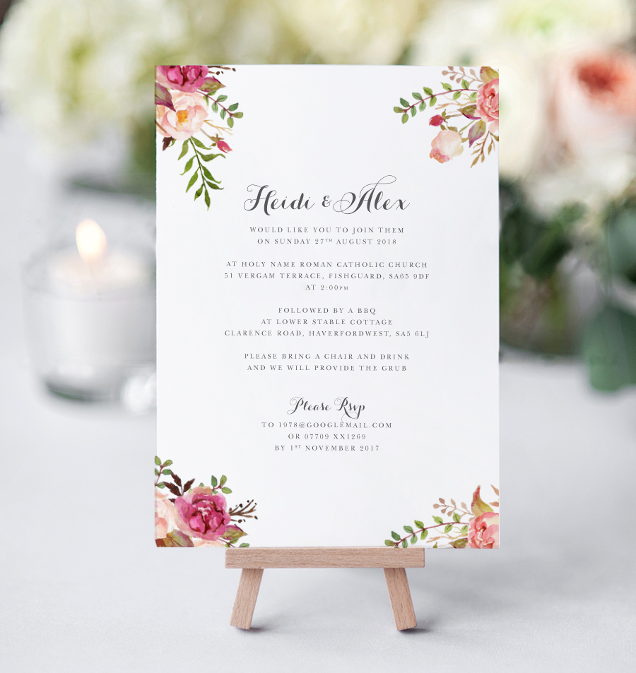 Contemporary wedding invitations and stationery by Olive Weddings on the English Wedding Blog (15)