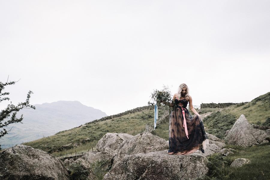 mountain wedding inspiration UK elopement styling English Wedding Blog (3)