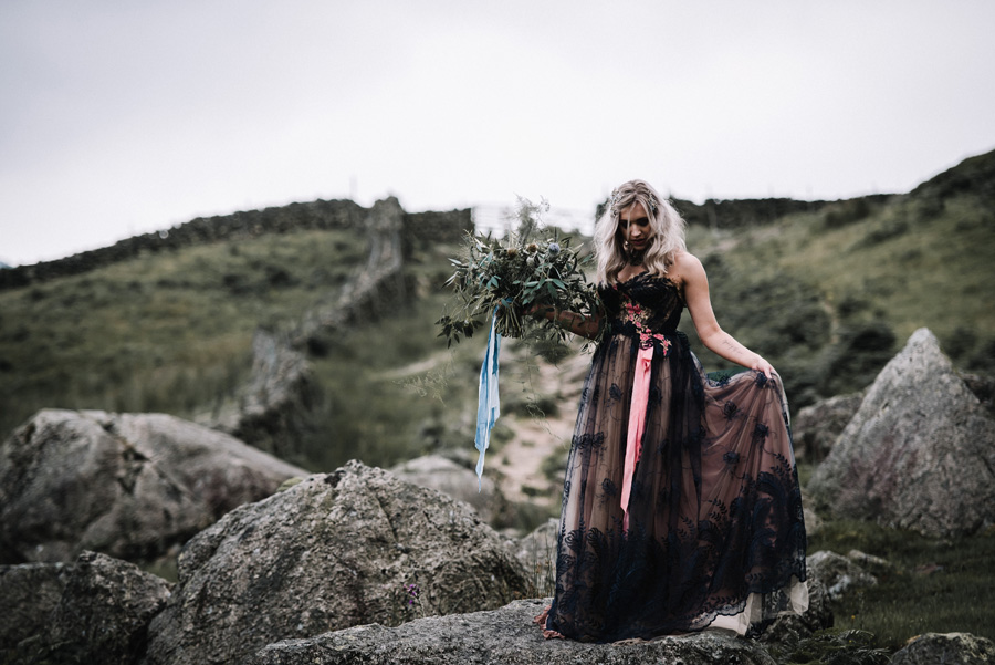 mountain wedding inspiration UK elopement styling English Wedding Blog (4)