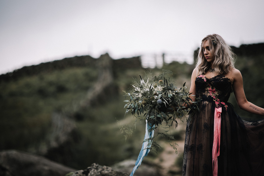 mountain wedding inspiration UK elopement styling English Wedding Blog (5)