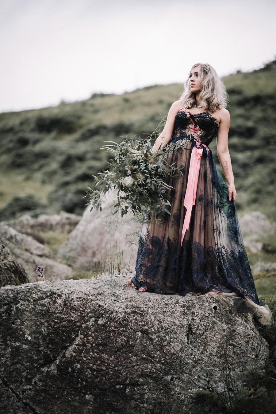 mountain wedding inspiration UK elopement styling English Wedding Blog (6)
