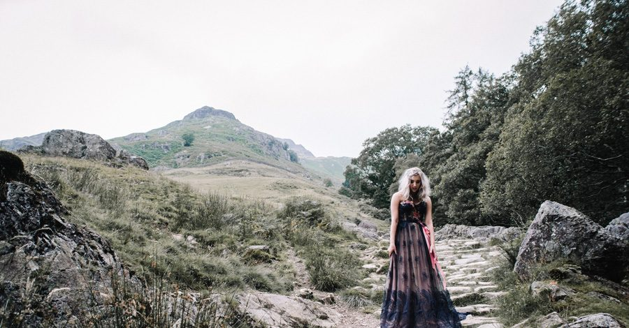 mountain wedding inspiration UK elopement styling English Wedding Blog (9)