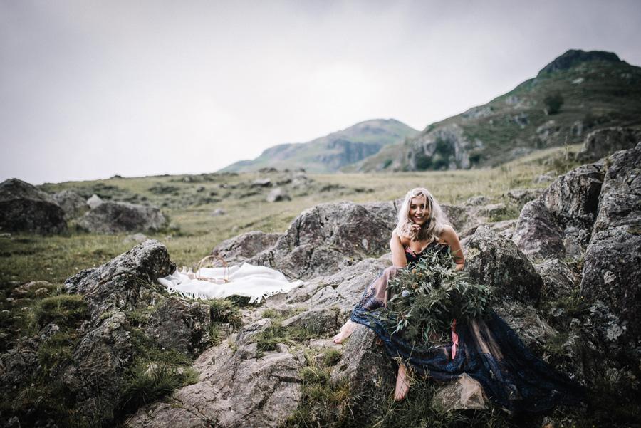 mountain wedding inspiration UK elopement styling English Wedding Blog (13)