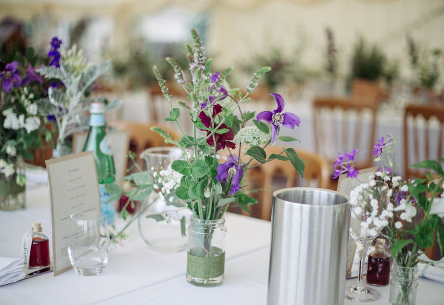 Gorgeous purple flowers for a summer wedding with Delicious Photography (9)