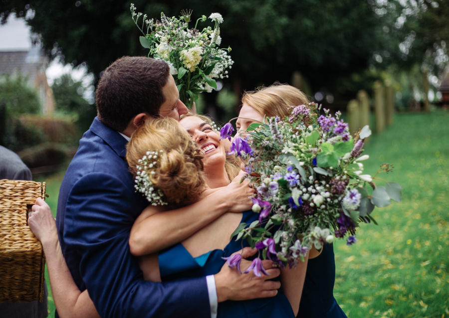 Gorgeous purple flowers for a summer wedding with Delicious Photography (21)