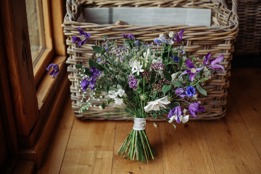 Gorgeous purple flowers for a summer wedding with Delicious Photography (2)
