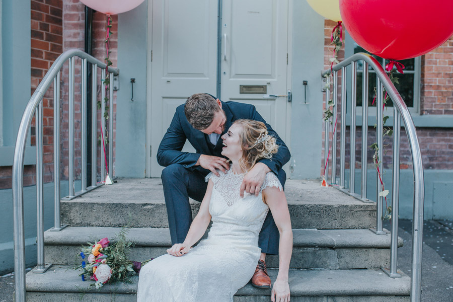 Bright, whimsical, boho wedding styling ideas with balloons, images by Sarah Maria Photography (10)