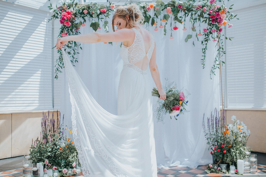 Bright, whimsical, boho wedding styling ideas with balloons, images by Sarah Maria Photography (20)