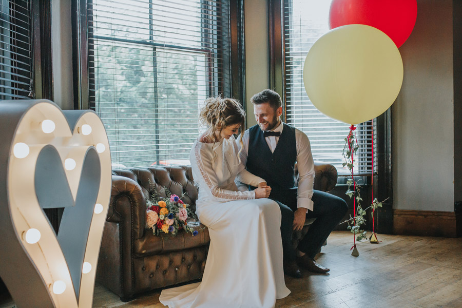 Bright, whimsical, boho wedding styling ideas with balloons, images by Sarah Maria Photography (23)