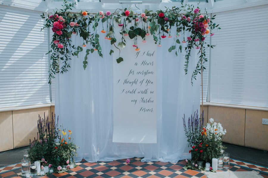 Bright, whimsical, boho wedding styling ideas with balloons, images by Sarah Maria Photography (25)