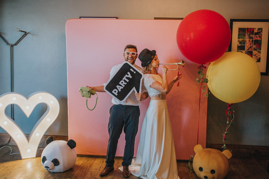 Bright, whimsical, boho wedding styling ideas with balloons, images by Sarah Maria Photography (38)