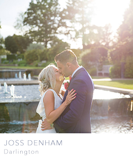 north east wedding photographer Joss Denham Darlington