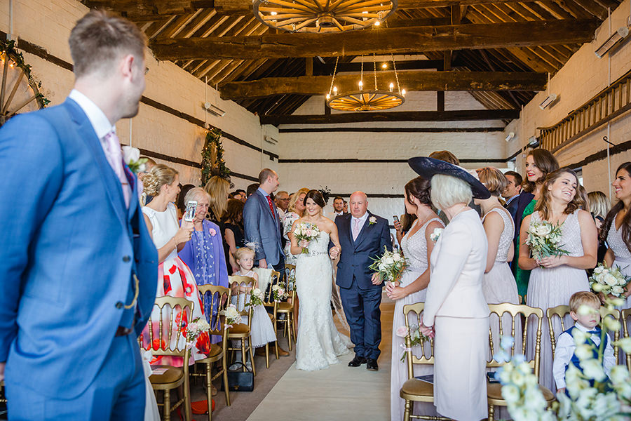 Vicky and Charlie's laid back Lillibrooke Manor wedding on the English Wedding Blog, photos by Sarah Ann Wright (7)