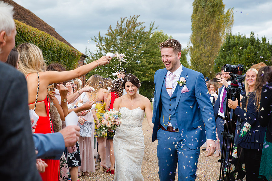 Vicky and Charlie's laid back Lillibrooke Manor wedding on the English Wedding Blog, photos by Sarah Ann Wright (10)
