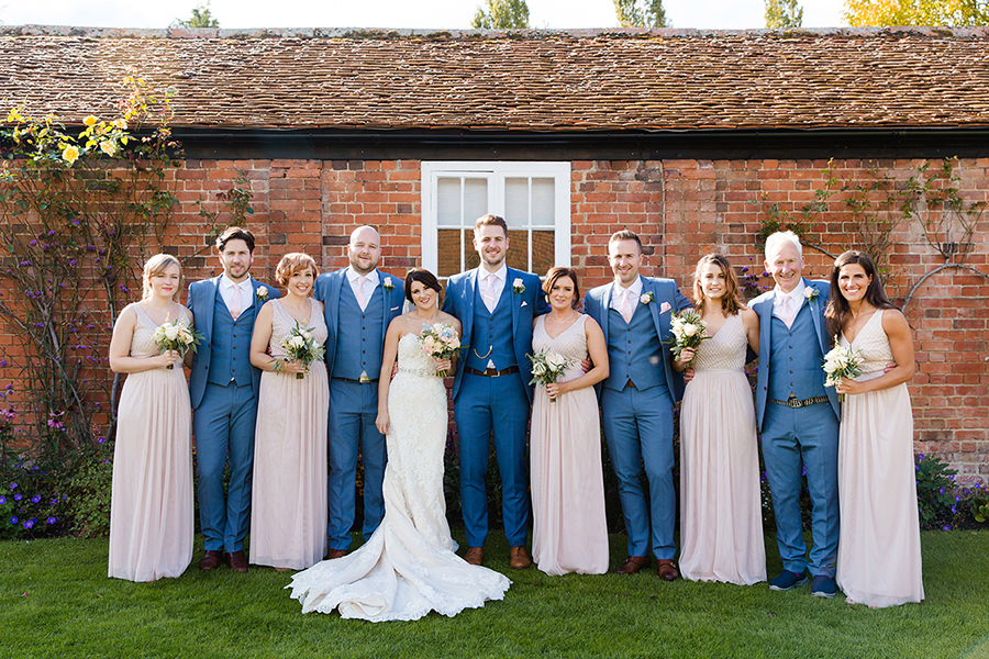 Vicky and Charlie's laid back Lillibrooke Manor wedding on the English Wedding Blog, photos by Sarah Ann Wright (19)