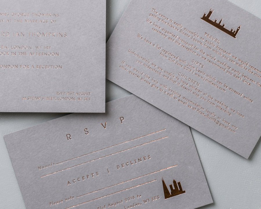 wedding stationery by wolf and ink UK (8)