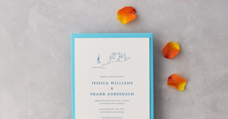 wedding stationery by wolf and ink UK (6)