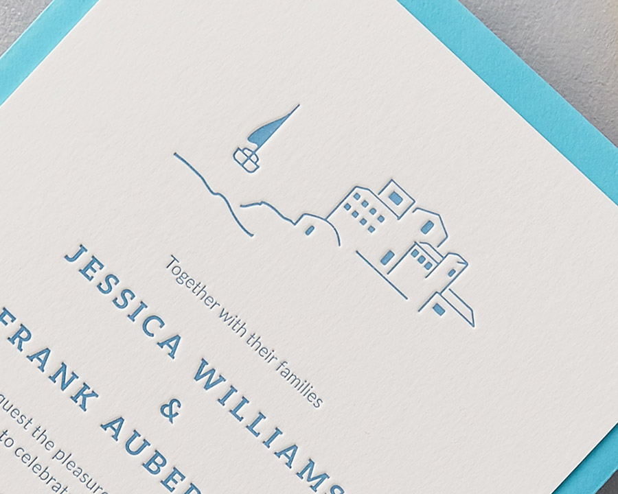wedding stationery by wolf and ink UK (5)