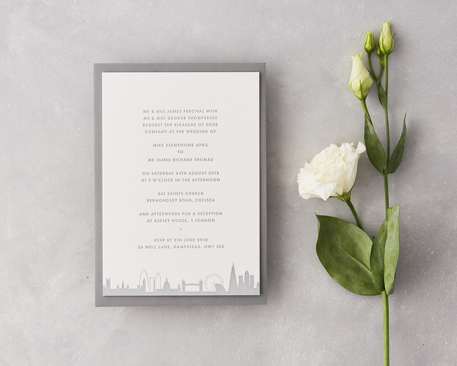 wedding stationery by wolf and ink UK (4)