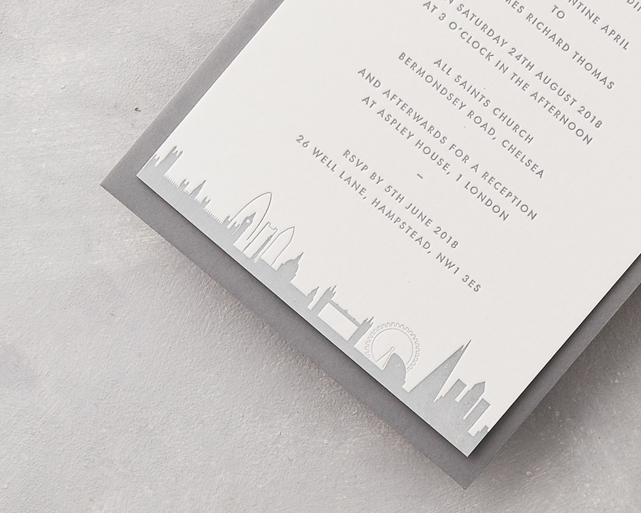 wedding stationery by wolf and ink UK (3)