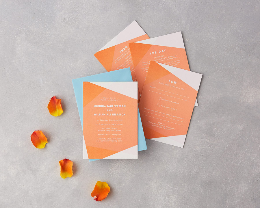 wedding stationery by wolf and ink UK (2)