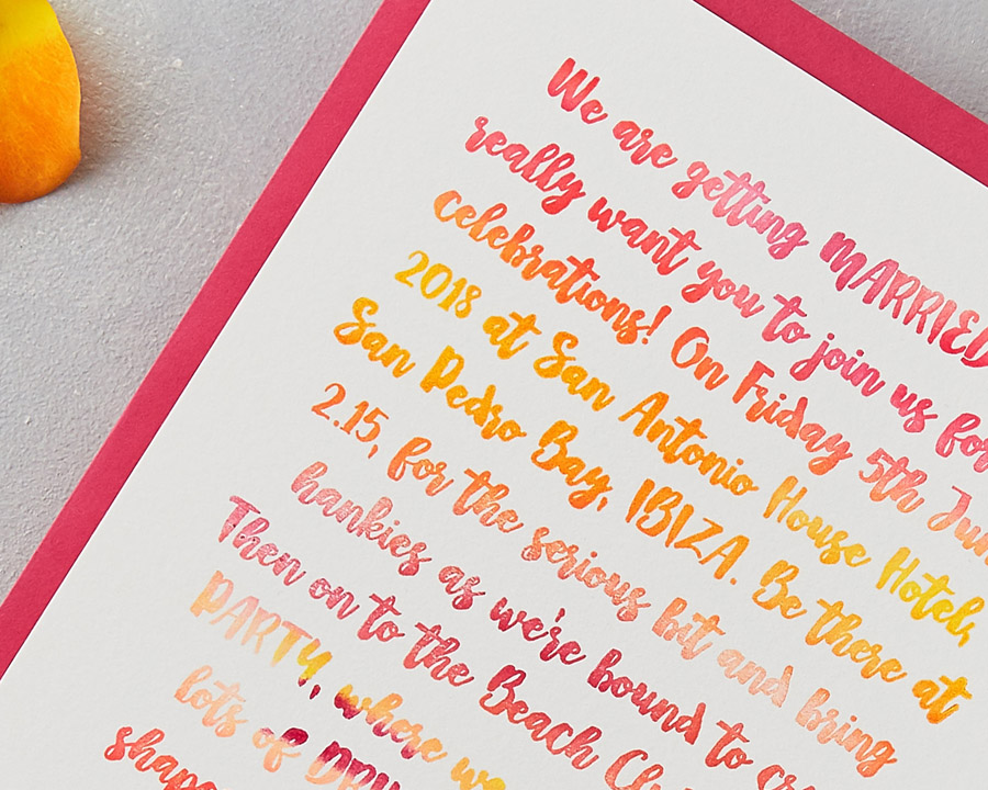 wedding stationery by wolf and ink UK (1)