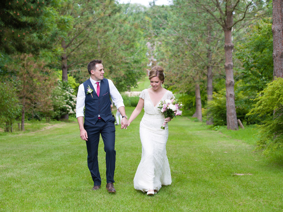 Outdoor wedding in Worcestershire, Bodenham Arboretum - Clive Blair Photography on the English Wedding Blog (17)