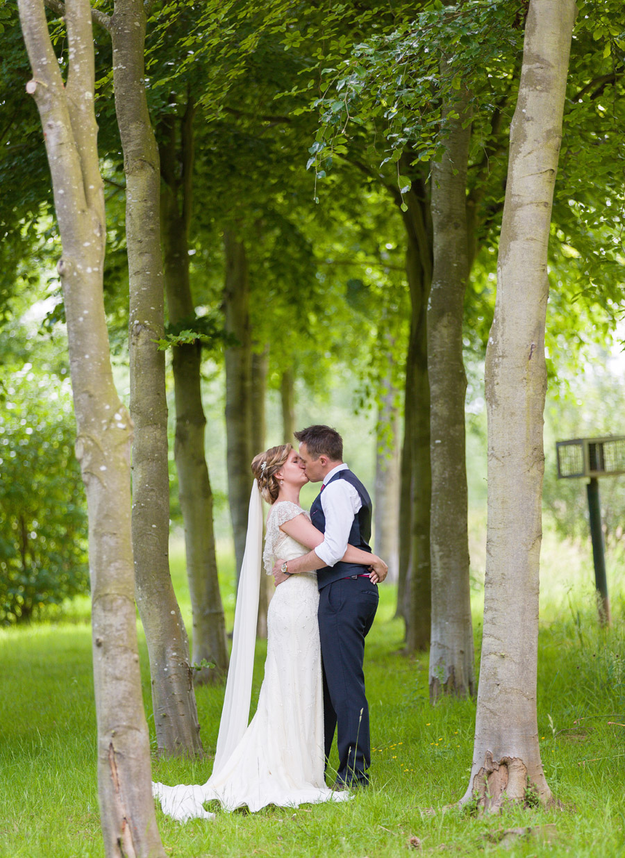 Outdoor wedding in Worcestershire, Bodenham Arboretum - Clive Blair Photography on the English Wedding Blog (21)