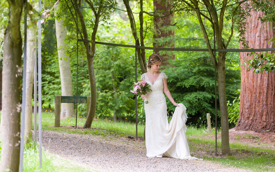 Outdoor wedding in Worcestershire, Bodenham Arboretum - Clive Blair Photography on the English Wedding Blog (23)