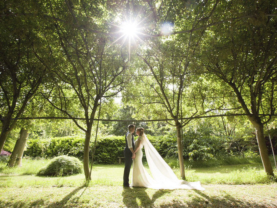 Outdoor wedding in Worcestershire, Bodenham Arboretum - Clive Blair Photography on the English Wedding Blog (24)