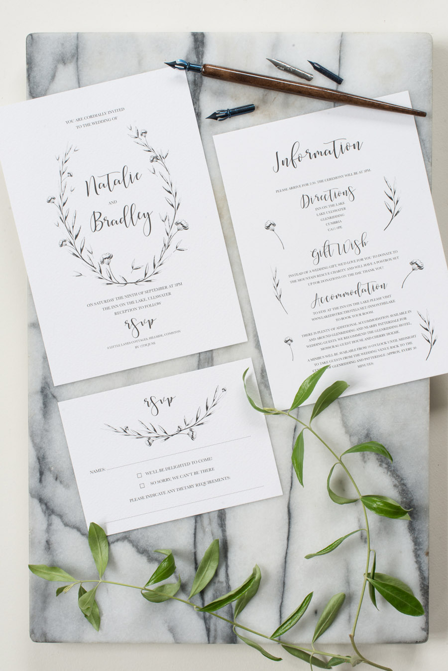 cheap designer wedding invitations uk (3)