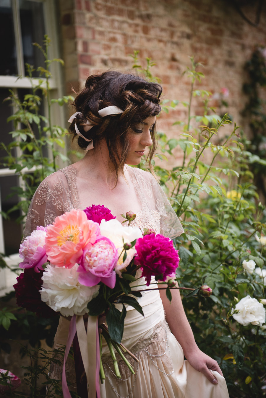 Peony wedding inspiration on the English Wedding Blog, images by Heline Bekker (18)
