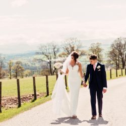 Alex and Scott's wedding full of surprises at The Roundthorn, with Camilla Lucinda Photography