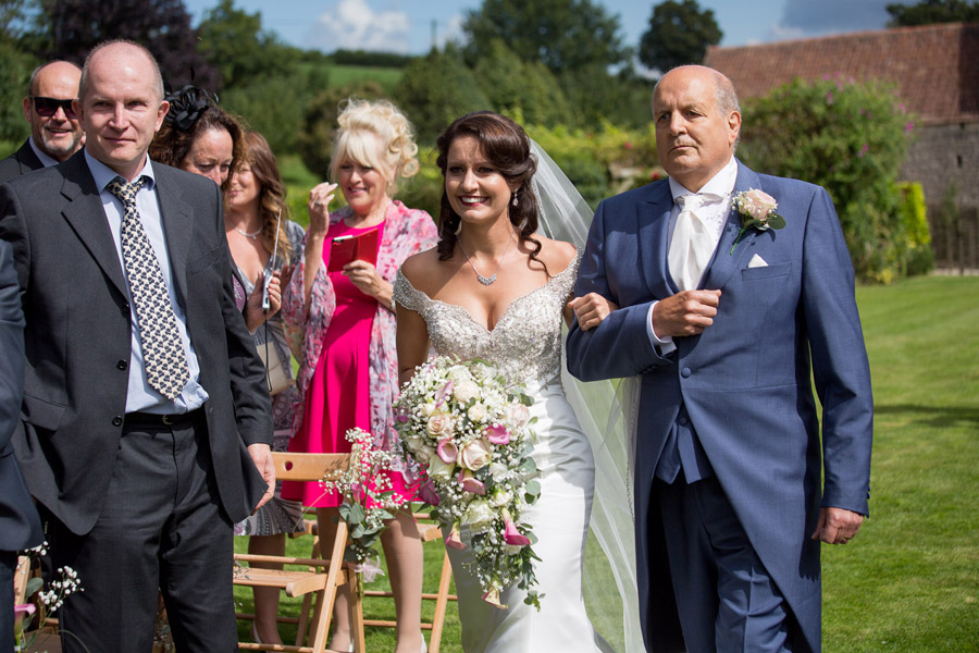 Outdoor wedding at Priston Mill watermill, with images by Martin Dabek Photography on the English Wedding blog (7)
