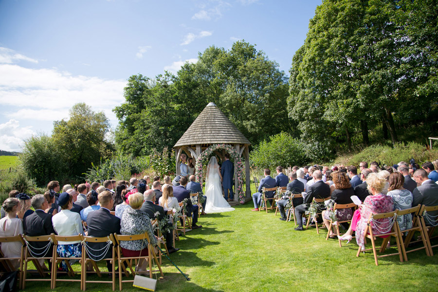 Outdoor wedding at Priston Mill watermill, with images by Martin Dabek Photography on the English Wedding blog (8)