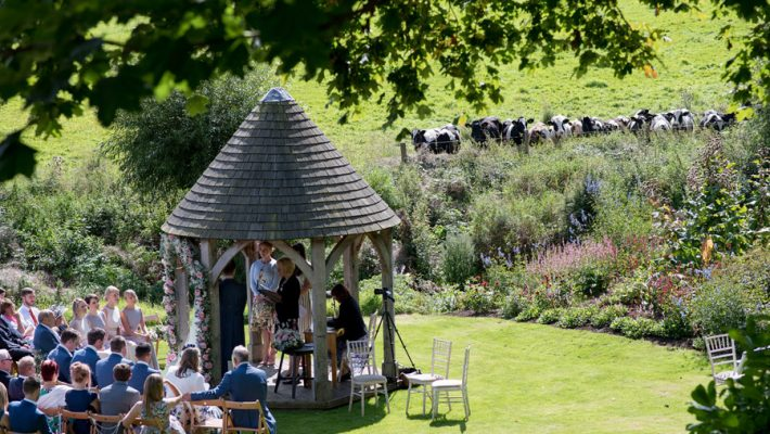 Outdoor wedding at Priston Mill watermill, with images by Martin Dabek Photography on the English Wedding blog (10)
