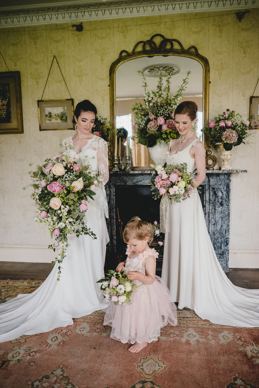 Heirloom wedding inspiration with Emily Andrews Events at Thurning Hall. Photo credit Benjamin Mathers Photography (3)