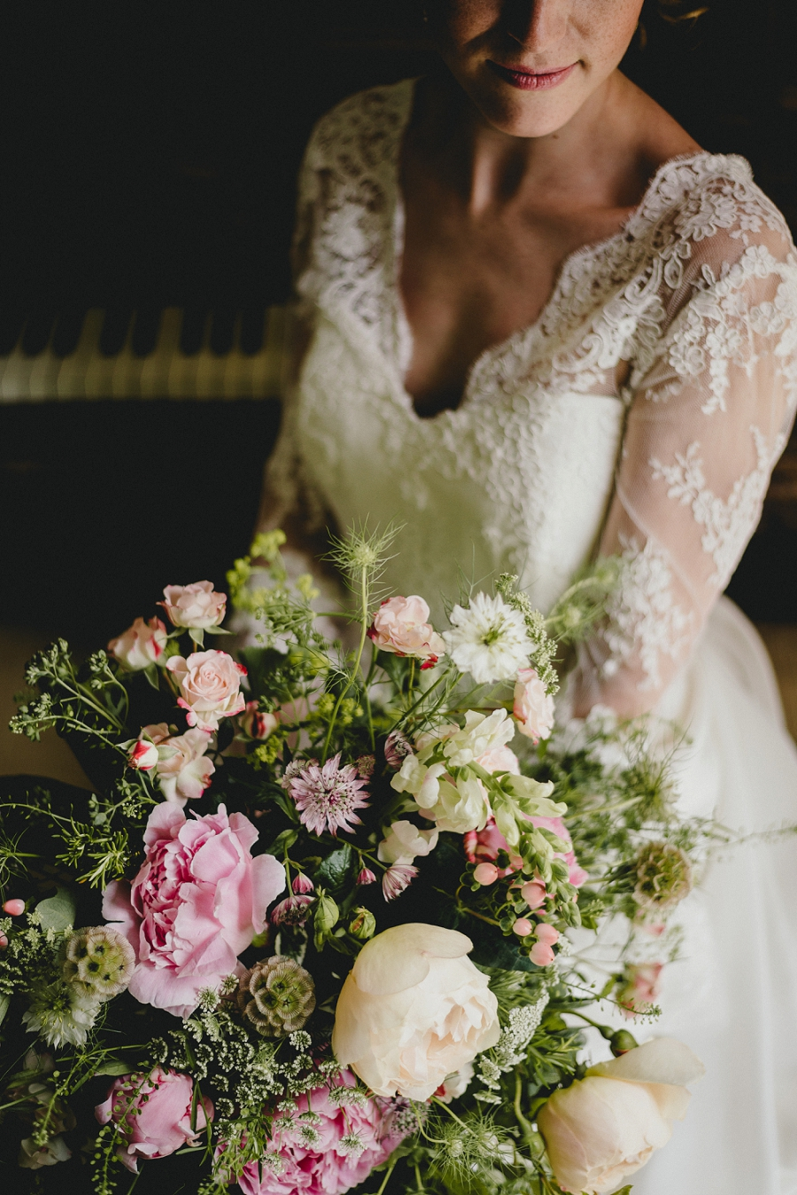 Heirloom wedding inspiration with Emily Andrews Events at Thurning Hall. Photo credit Benjamin Mathers Photography (6)