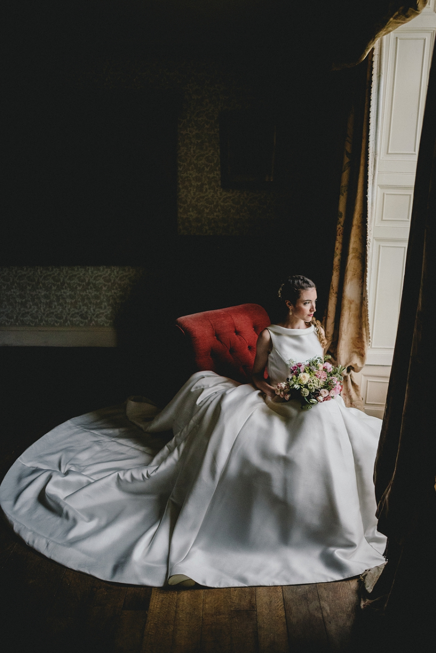 Heirloom wedding inspiration with Emily Andrews Events at Thurning Hall. Photo credit Benjamin Mathers Photography (33)