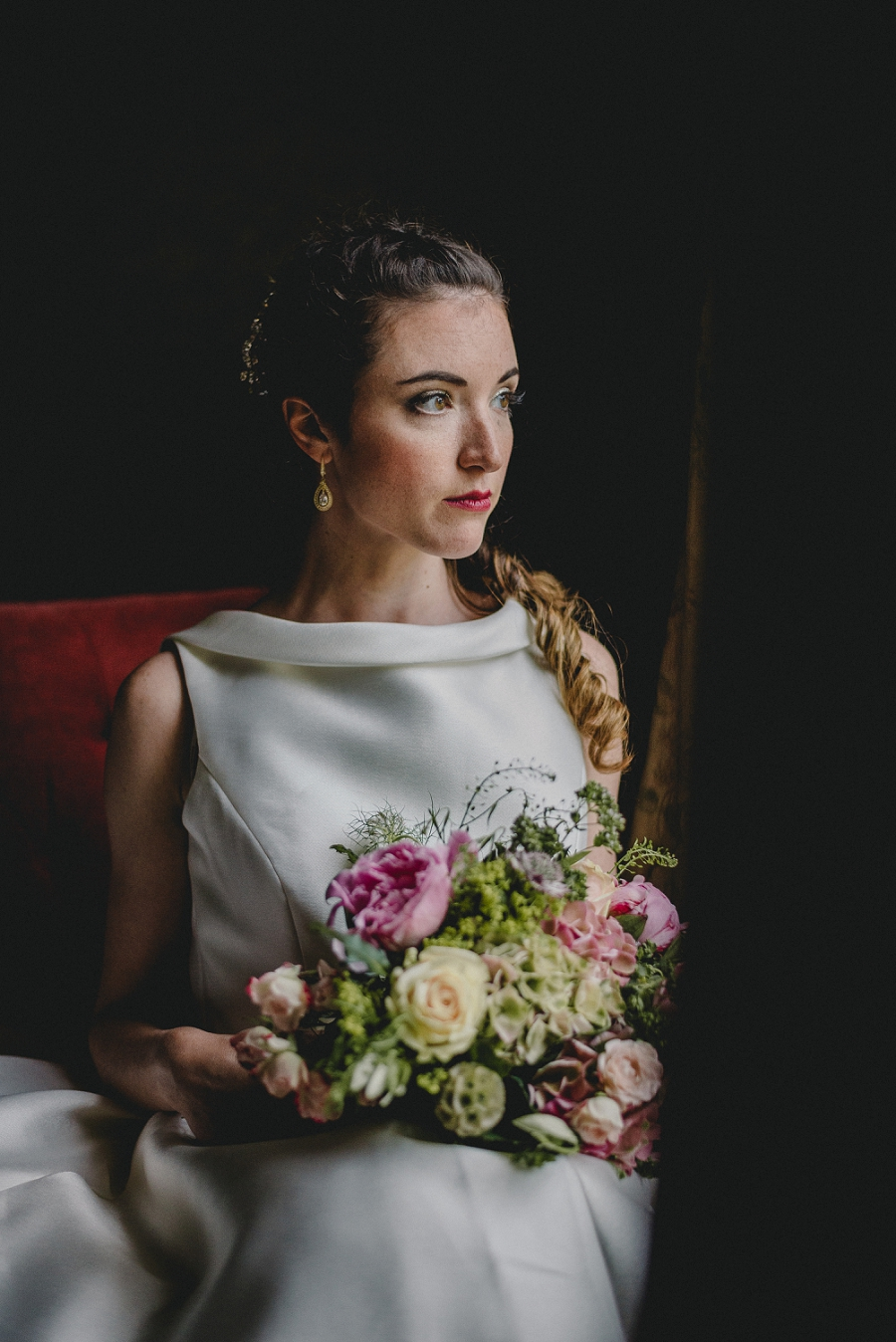 Heirloom wedding inspiration with Emily Andrews Events at Thurning Hall. Photo credit Benjamin Mathers Photography (34)