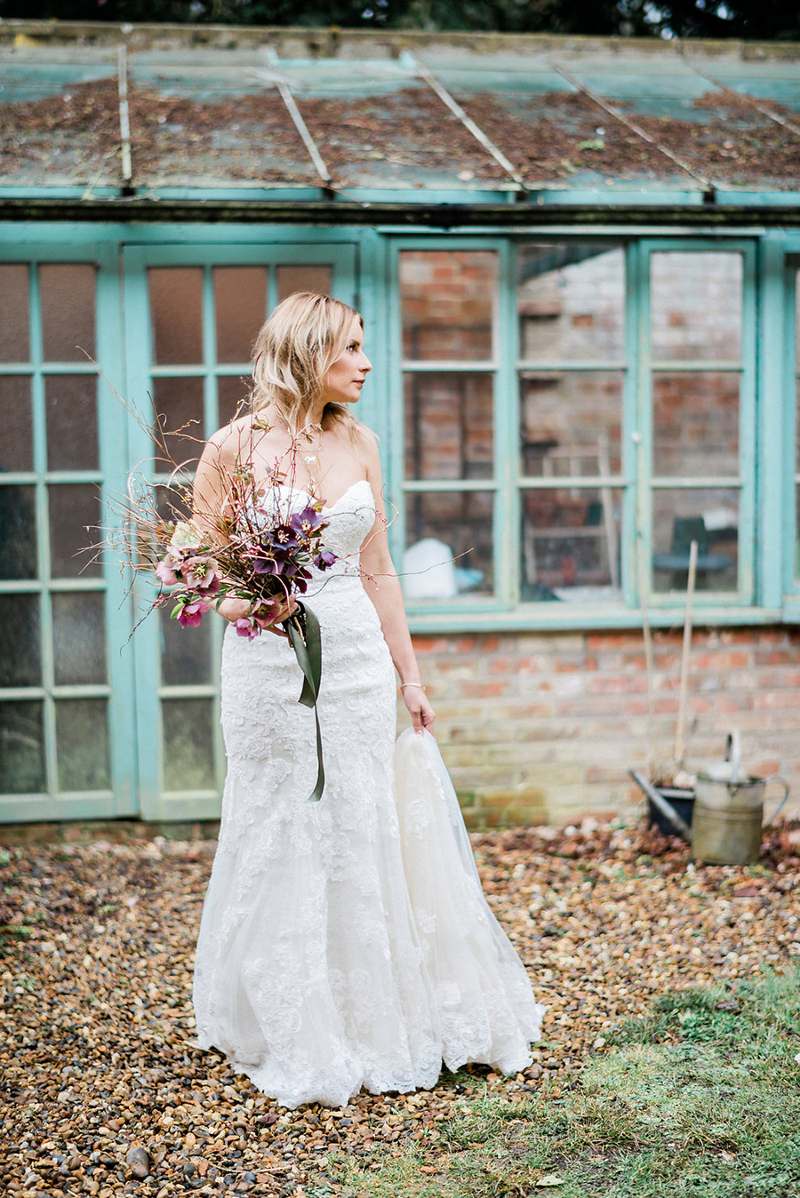 Fine art bridal portraits by Kathryn Hopkins Photography on the English Wedding Blog (12)