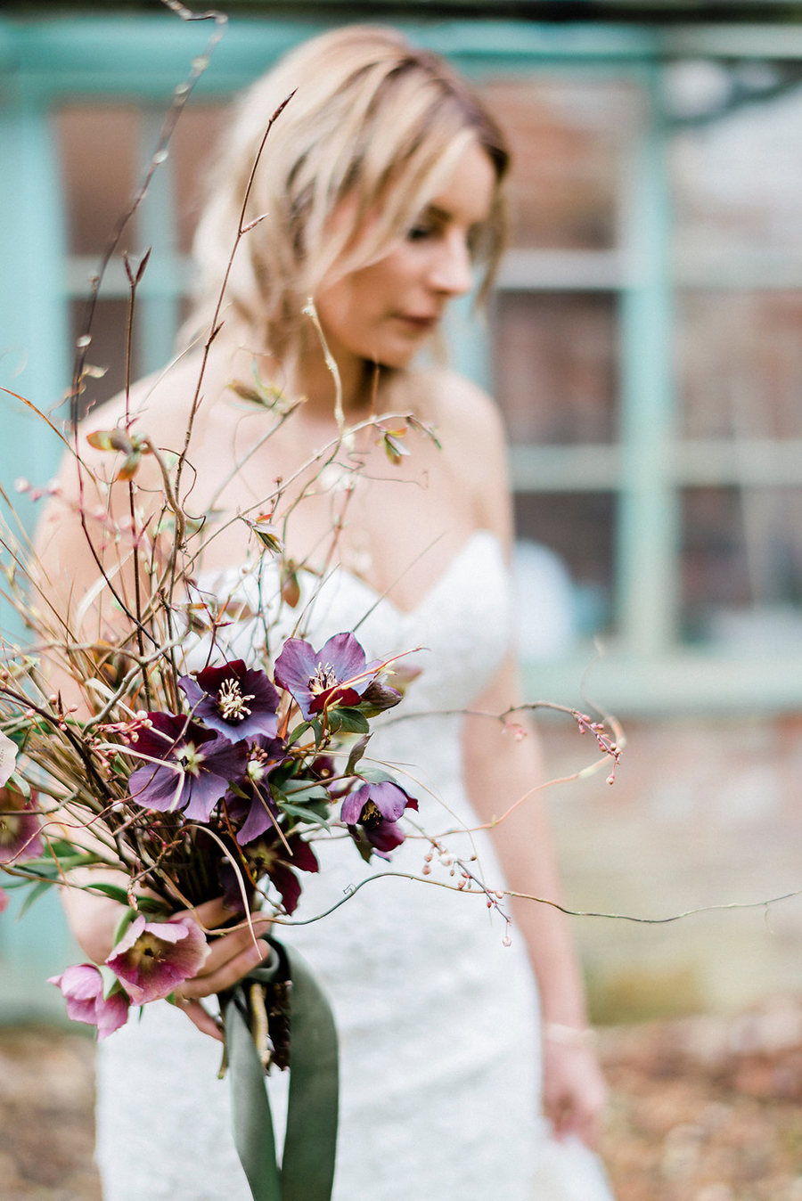 Fine art bridal portraits by Kathryn Hopkins Photography on the English Wedding Blog (13)