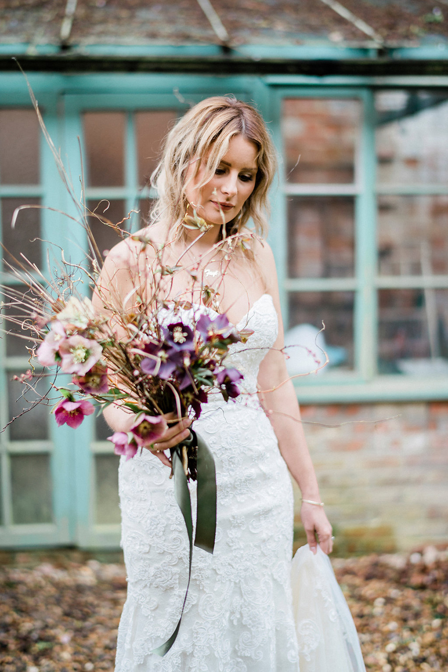 Fine art bridal portraits by Kathryn Hopkins Photography on the English Wedding Blog (14)
