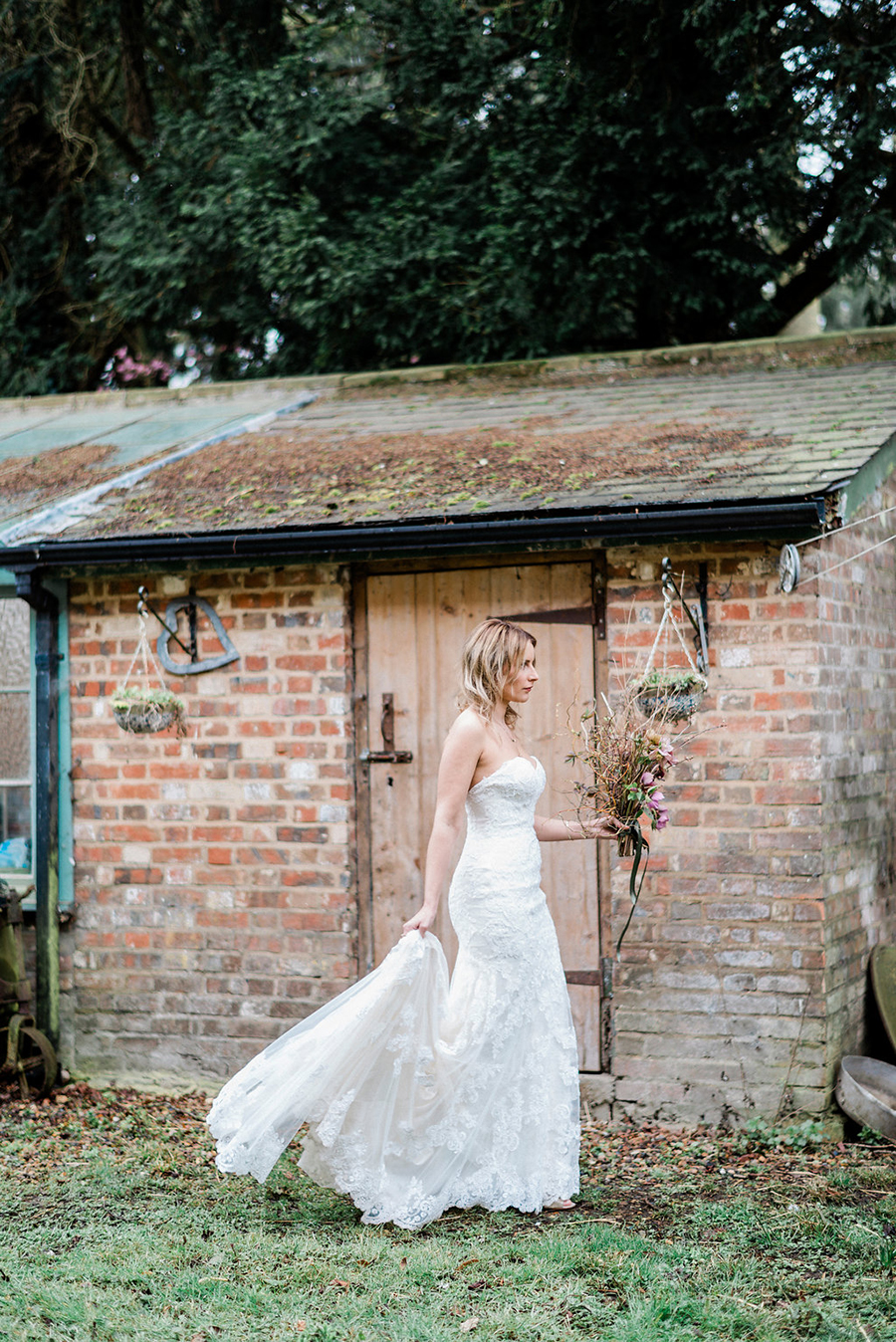 Fine art bridal portraits by Kathryn Hopkins Photography on the English Wedding Blog (15)
