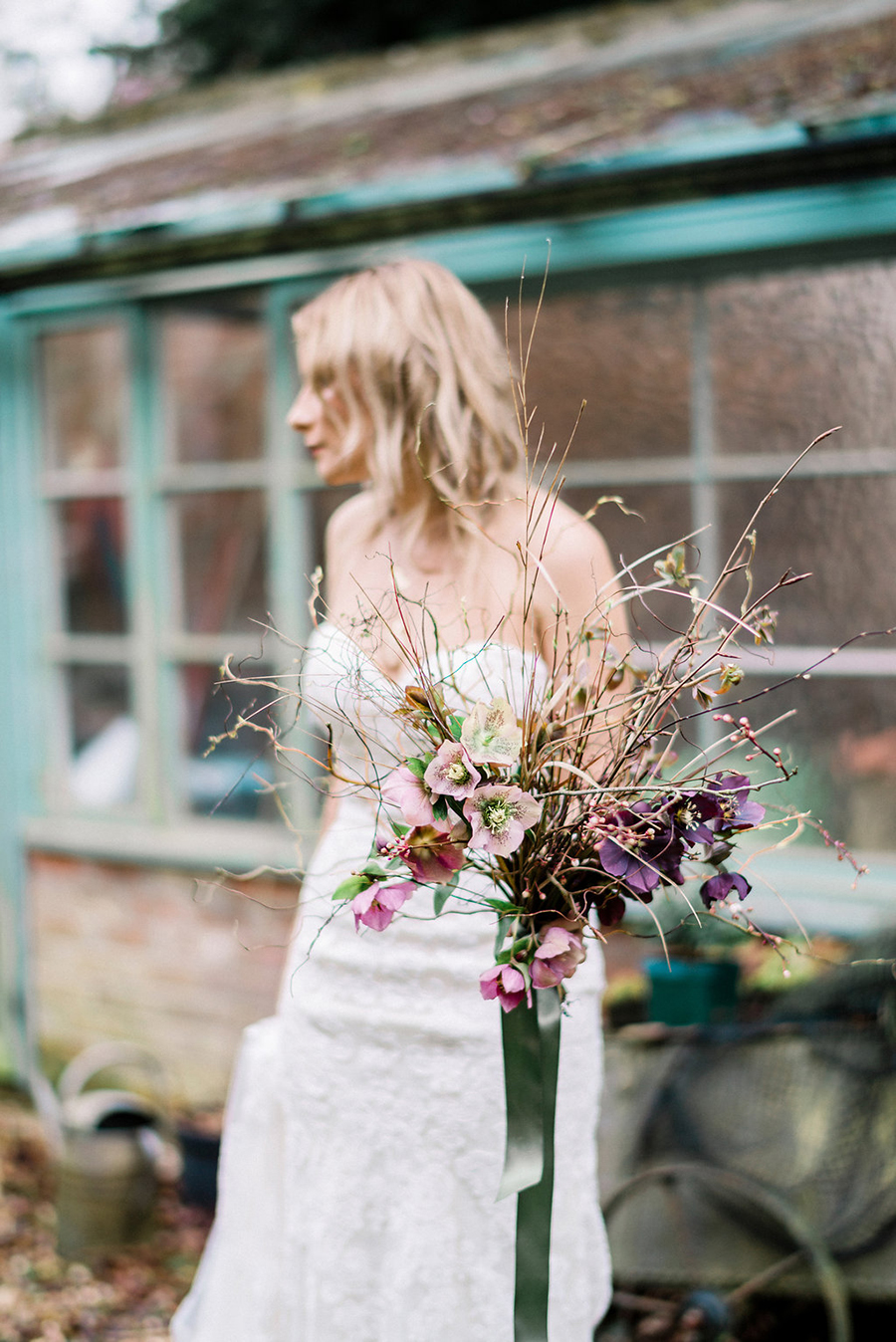 Fine art bridal portraits by Kathryn Hopkins Photography on the English Wedding Blog (16)