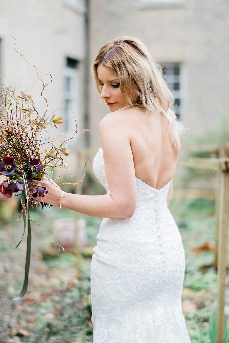 Fine art bridal portraits by Kathryn Hopkins Photography on the English Wedding Blog (21)