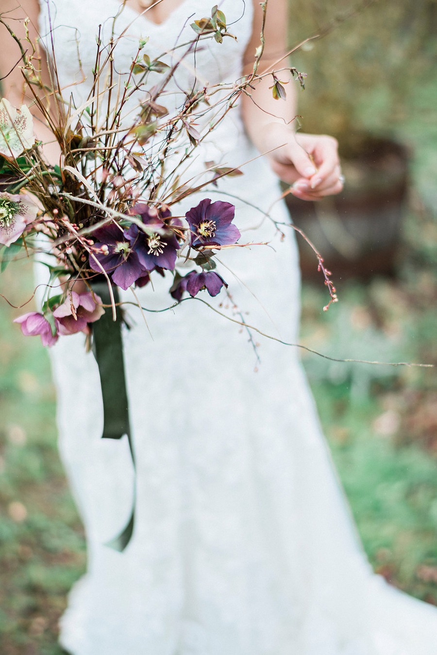 Fine art bridal portraits by Kathryn Hopkins Photography on the English Wedding Blog (26)
