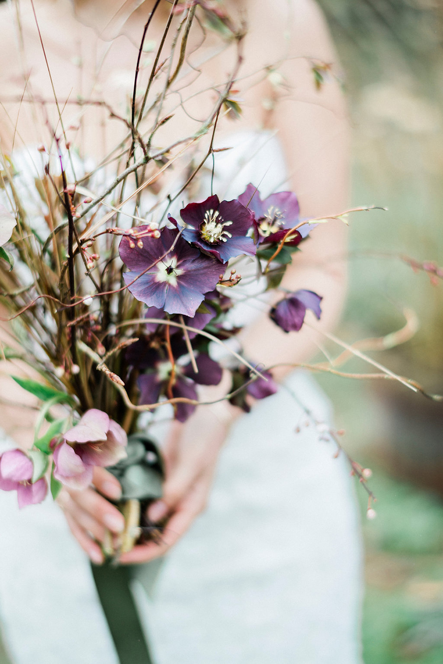 Fine art bridal portraits by Kathryn Hopkins Photography on the English Wedding Blog (29)