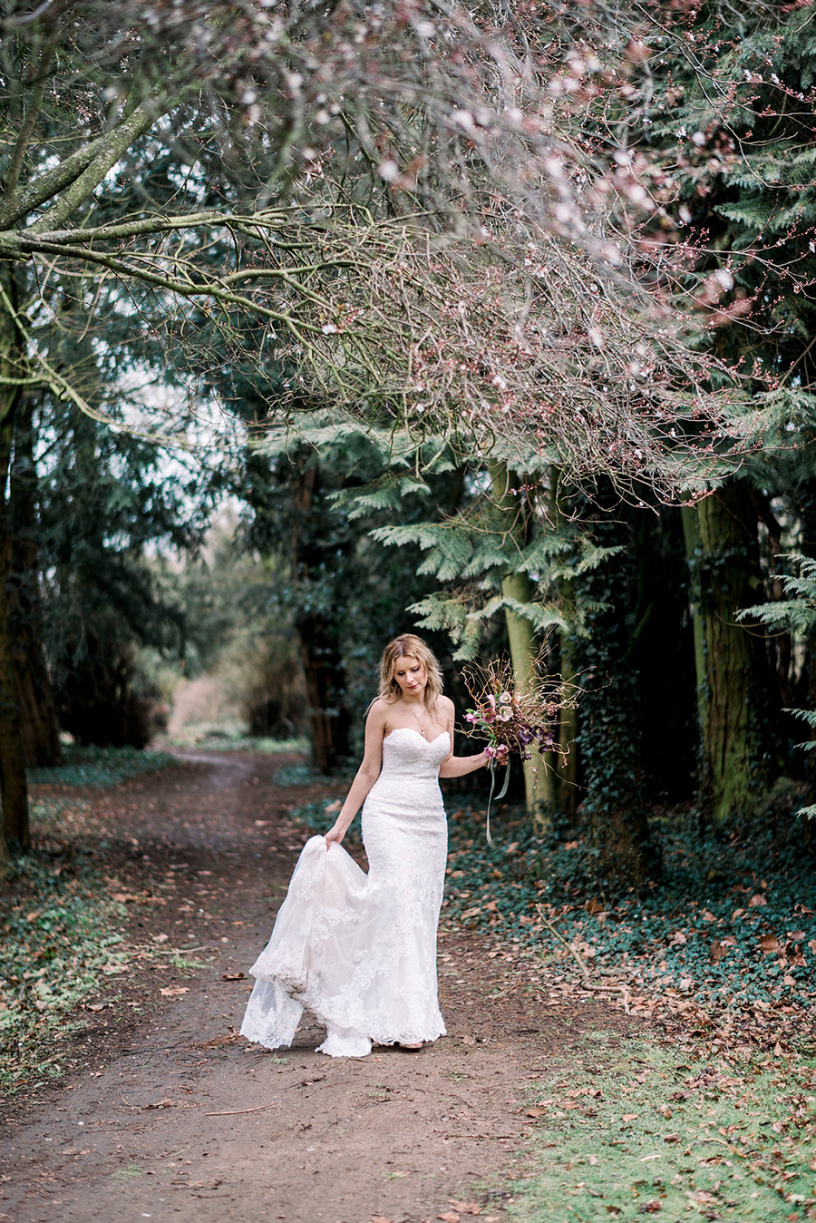 Fine art bridal portraits by Kathryn Hopkins Photography on the English Wedding Blog (36)
