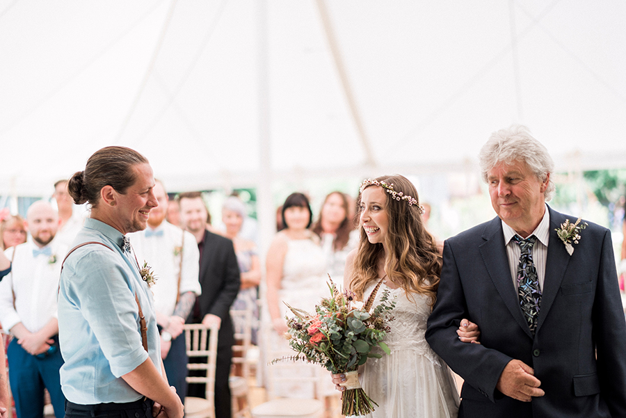 Dreamy boho wedding at Houchins Farm with images by Kathryn Hopkins Photography (9)